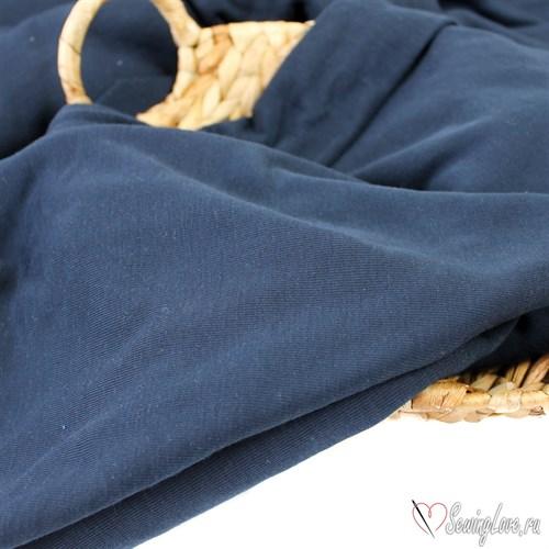 Тревира (рибана с начесом) темно-синяя - фото 11580