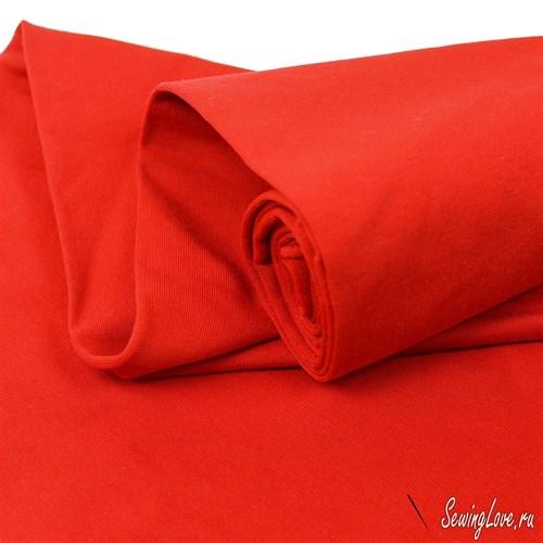 Футер двунитка петля с лайкрой Красный - фото 12285
