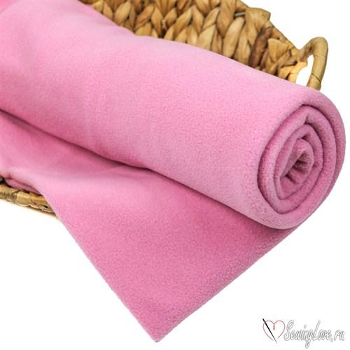 Флис односторонний Розовый - фото 14750
