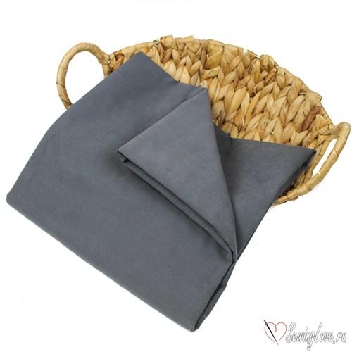 Ткань курточная LOKKER с эффектом замши. Темно-серый - фото 16217