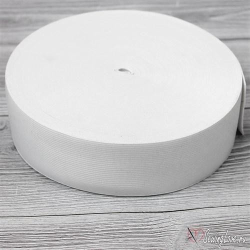 Резинка вязаная, 30 мм, Белый - фото 16555
