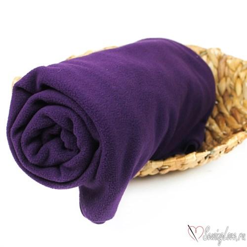 Флис односторонний Темно-Фиолетовый - фото 17248