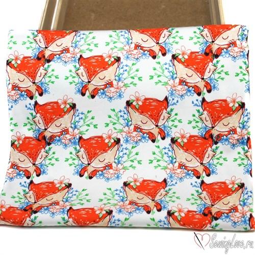 Интерлок Рыжая лиса - фото 17676