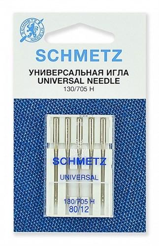 Иглы стандартные Schmetz 130/705H № 80 - фото 17798