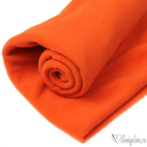 Флис односторонний Оранжевый - фото 18394