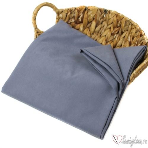 Ткань курточная LOKKER с эффектом замши. Серо-голубой - фото 18560