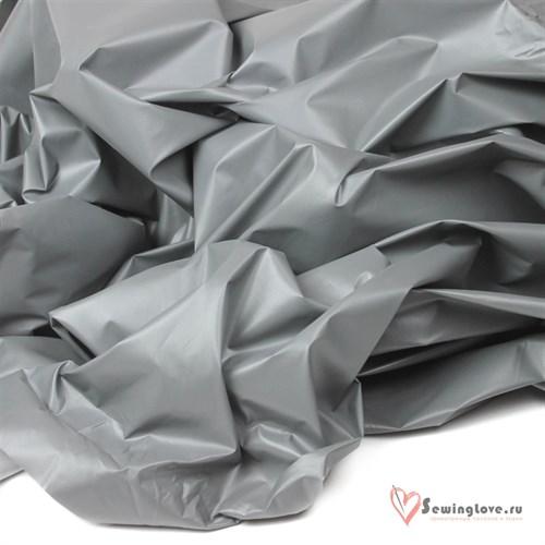 Курточная ткань Монклер (Лаке) Серый - фото 19572
