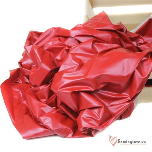 Курточная ткань Монклер (Лаке) Красный - фото 19587