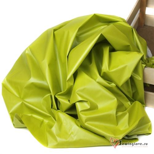Курточная ткань Монклер (Лаке) Фисташка - фото 19610