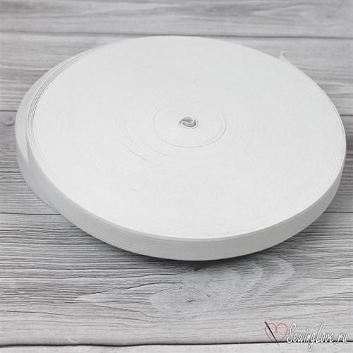 Резинка вязаная, 20 мм, Белый лайт - фото 21755