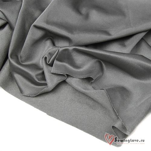 Ворсовый трикотаж (каризма) Серый - фото 22804