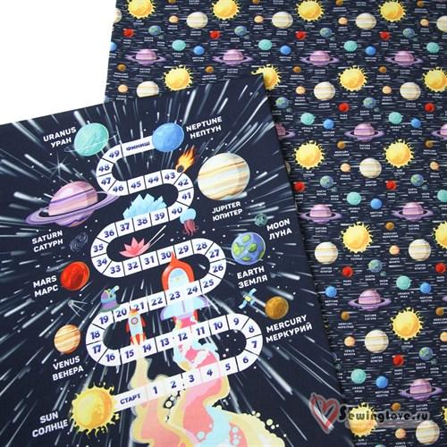 Панель Солнечная система №3 (60х60 см) - фото 22969