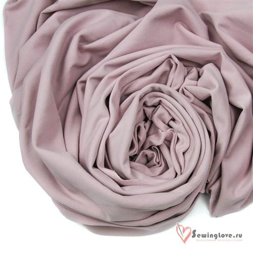 Футер 2-х ниточный Туманная роза - фото 25456