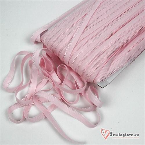 Резинка бельевая Светло-розовый,10 мм  - фото 26551