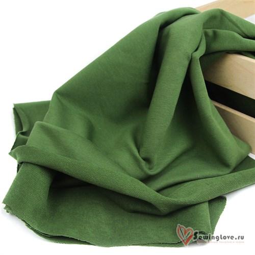 Футер 2-х ниточный Зелёный лист - фото 27132