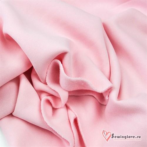 Футер 3-х с начёсом Нежно-розовый - фото 28927