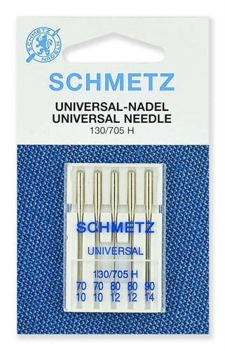 Иглы стандартные Schmetz 130/705H № 70(2),80(2),90(1) - фото 32519