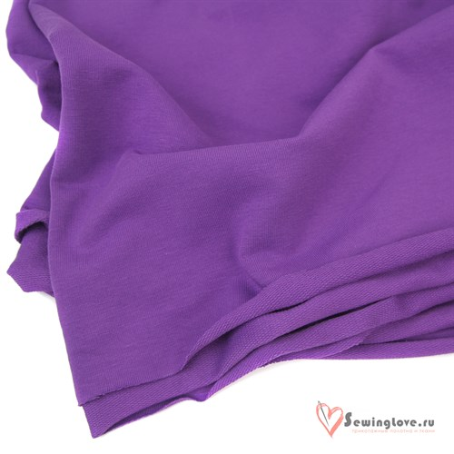 Футер 2-х ниточный Фиолетовый - фото 33375