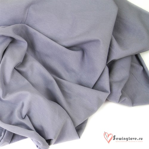 Футер 2-х ниточный Королевский серый - фото 33379