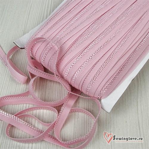 Резинка бельевая Светло-розовый,10 мм - фото 33405