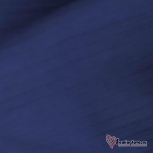 Рибана Индиго в тон к футеру жаккард (муслин) - фото 38326