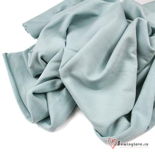 Футер 2-х ниточный Пыльно-голубой - фото 40903