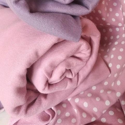 Рибана Розовая к горошкам - фото 41139