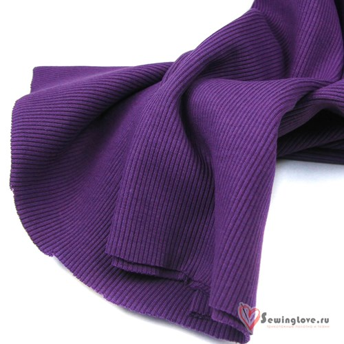 Кашкорсе Фиолетовый к начесу - фото 41228