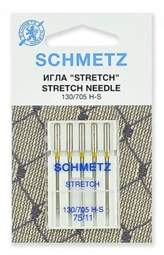 Иглы стрейч Schmetz 130/705H-S № 75