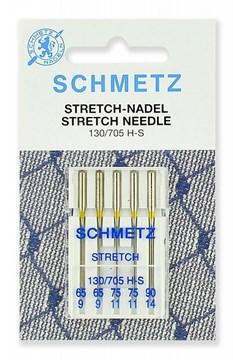 Иглы стрейч Schmetz 130/705H-S №65 (2) 75(2), 90(1)