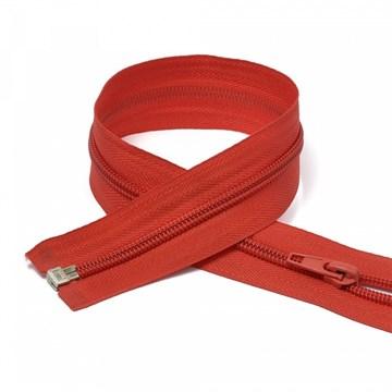 Молния пластиковая спираль Красный