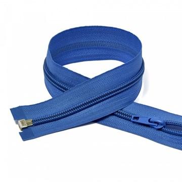Молния пластиковая спираль Синий