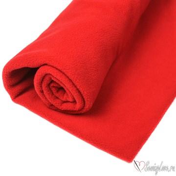 Флис односторонний Красный