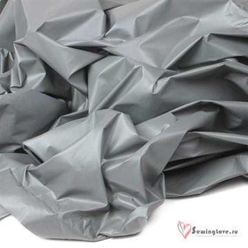 Курточная ткань Монклер (Лаке) Серебристый