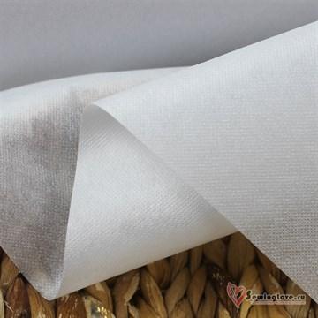 Флизелин IdealTex РА точечный 50г/м2 Белый