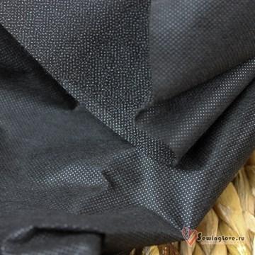 Флизелин IdealTex РА точечный 50г/м2 Чёрный