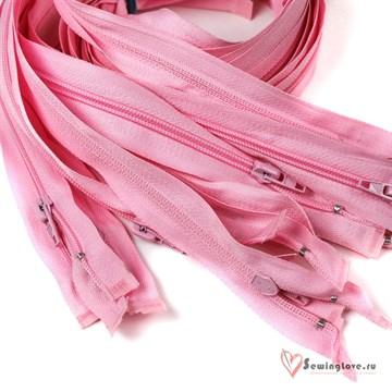 Молния пластиковая спираль Светло-розовый