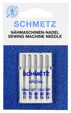 Иглы Супер стрейч Schmetz 130/705 HA x 1 SP № 75(2), 90(3)
