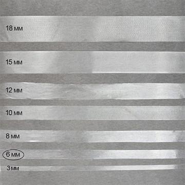 Лента силиконовая матовая 6 мм