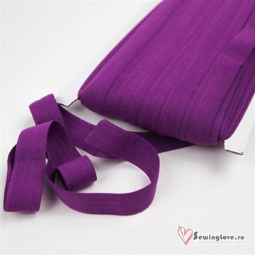 Резинка TBY окантовочная матовая 15 мм, Фиолетовый