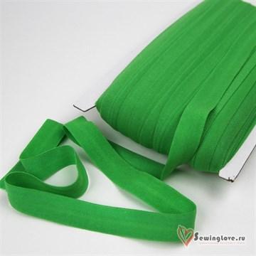 Резинка TBY окантовочная матовая 15 мм, Зелёный