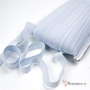 Резинка TBY окантовочная матовая 15 мм, Светло-голубой