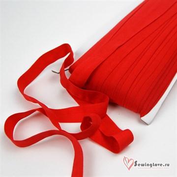 Резинка TBY окантовочная матовая 15 мм, Тёмно-красный