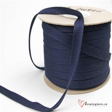 Шнур отделочный 12-15 мм, Тёмно-синий
