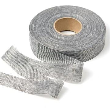 Лента нитепрошивная клеевая по долевой, 30 мм, Серый