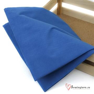 Ткань курточная LOKKER с эффектом замши. Синий