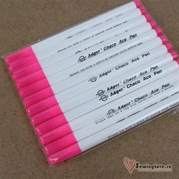 Маркер для разметки ткани исчезающий Розовый