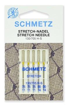 Иглы стрейч Schmetz 130/705H-S №75(3), 90(2)