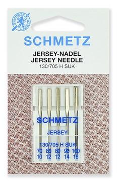 Иглы джерси Schmetz 130/705H № 70 (1), 80 (2), 90 (1), 100 (1)
