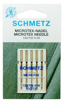 Иглы микротекс (особо острые) Schmetz 130/705H-M № 110